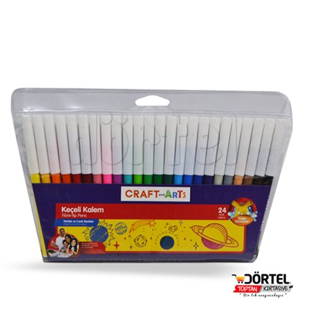 Craft Arts 24 lükeçeli kalem